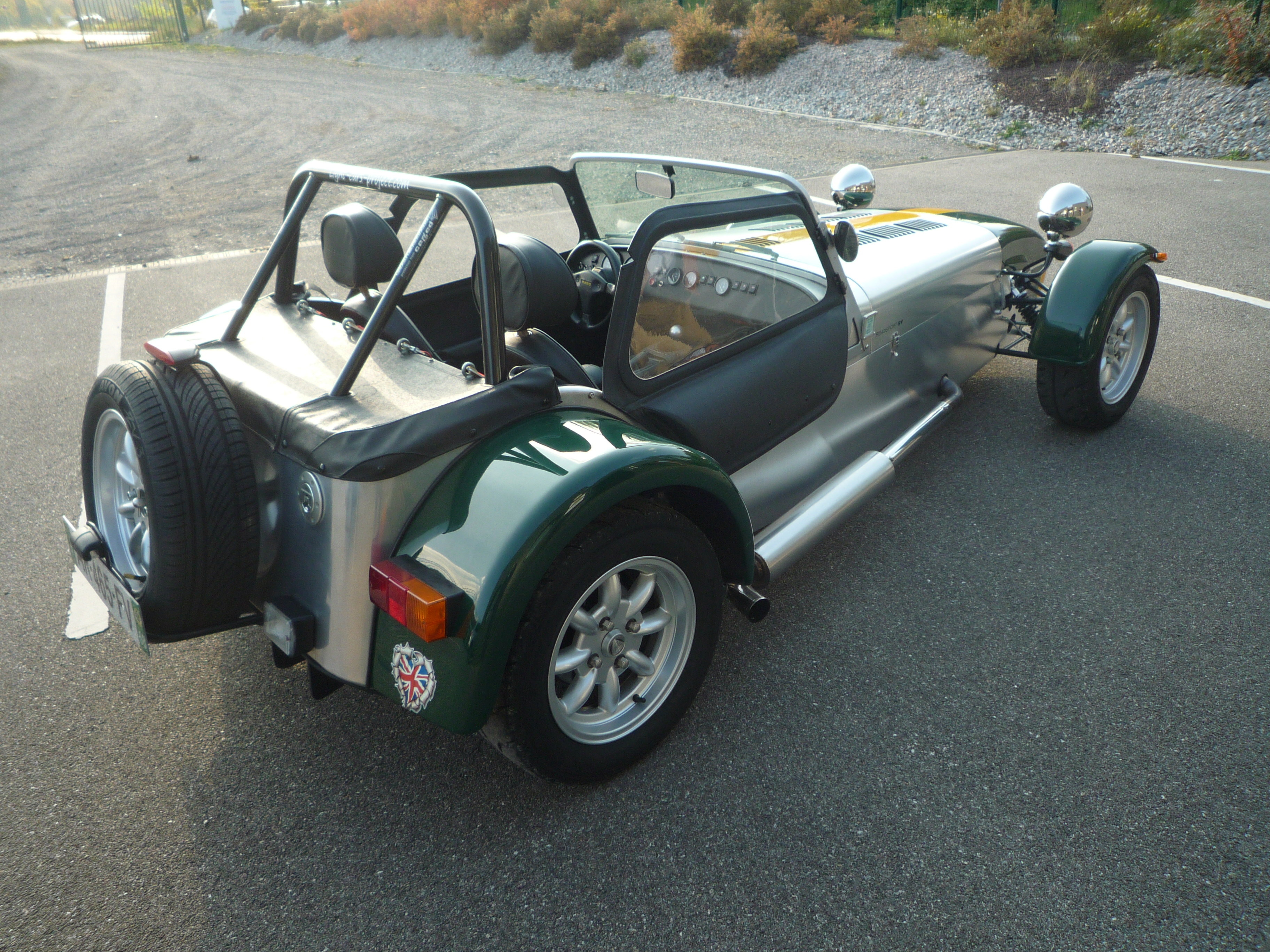 light cars project    caterham sv 120 roadsport