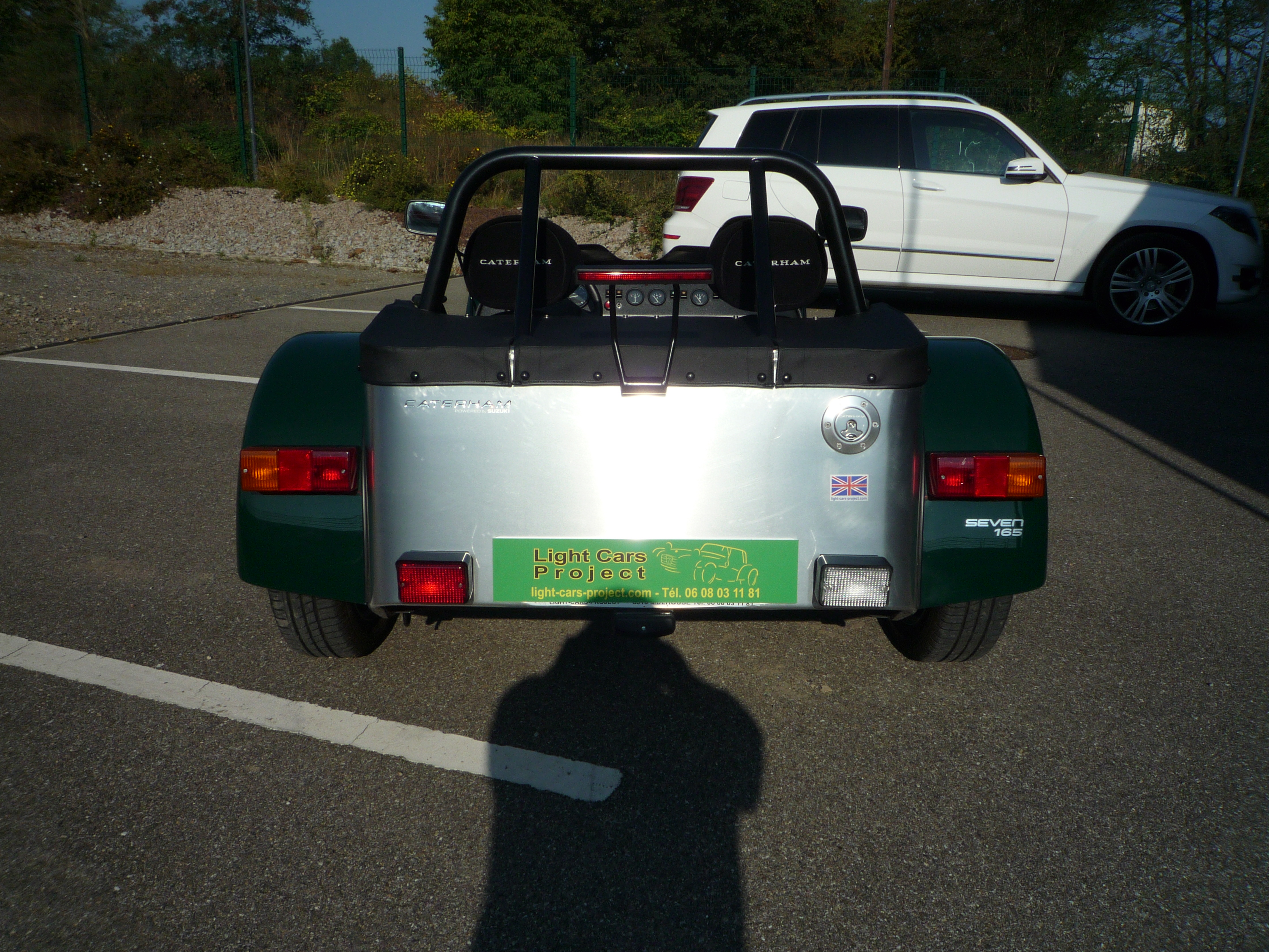 light cars project    caterham 165