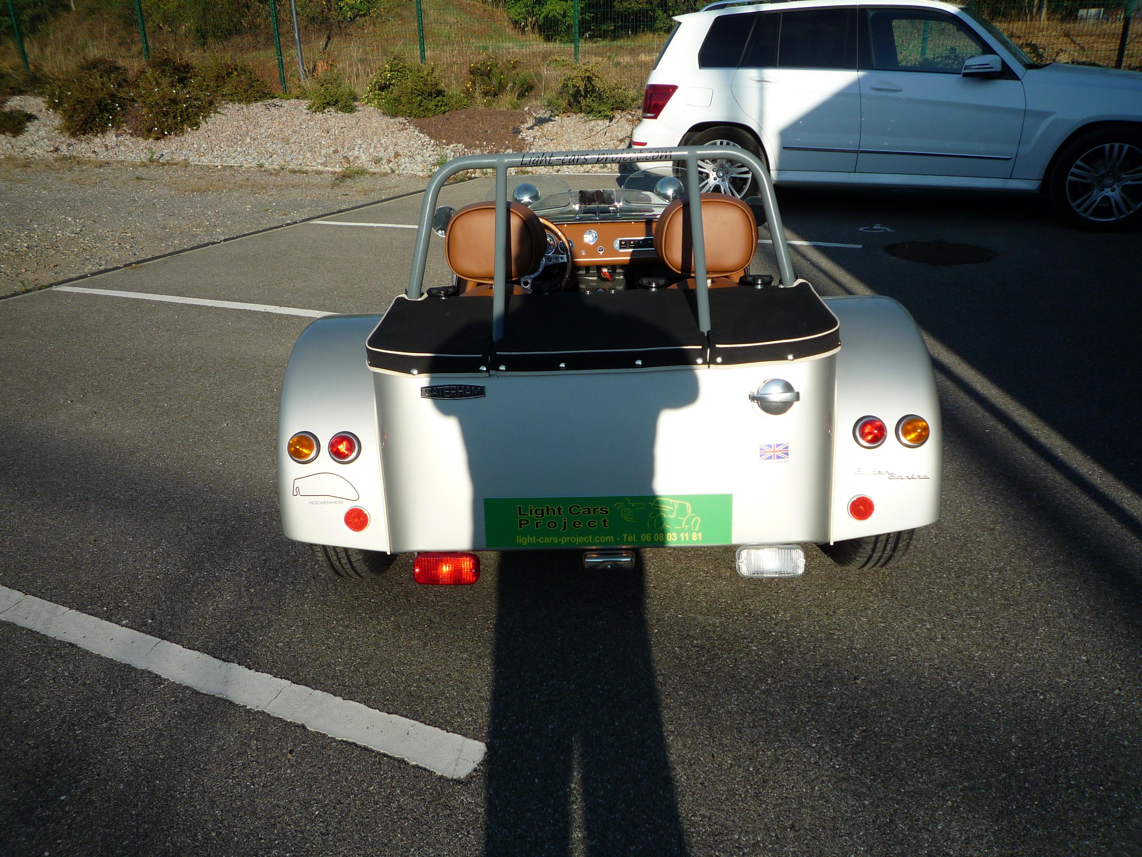 light cars project    caterham 165 super-sprint